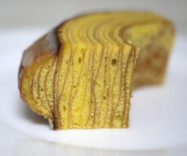 ヴィヨンバウムクーヘン 断面図