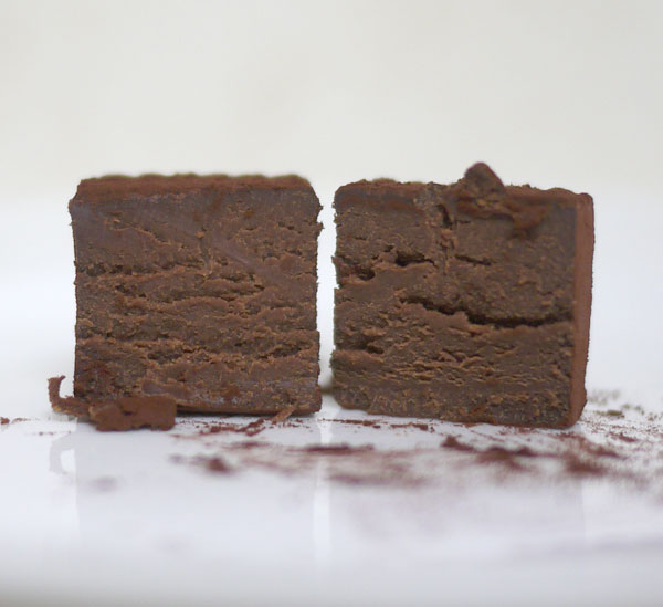 生チョコレート VSOP  断面図
