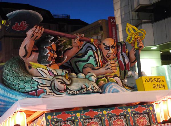 桜新町 ねぶた祭り 山車