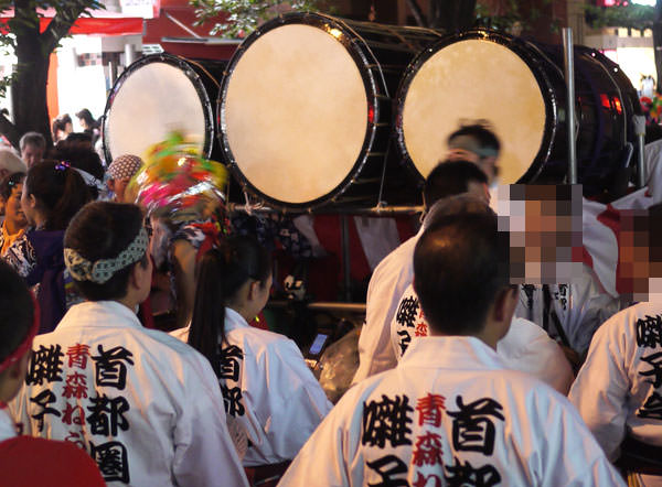 桜新町 ねぶた祭り 太鼓