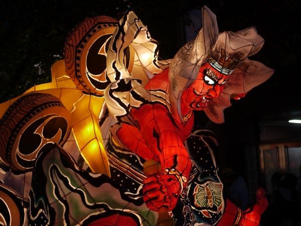 桜新町ねぶた祭り2013 山車雷神