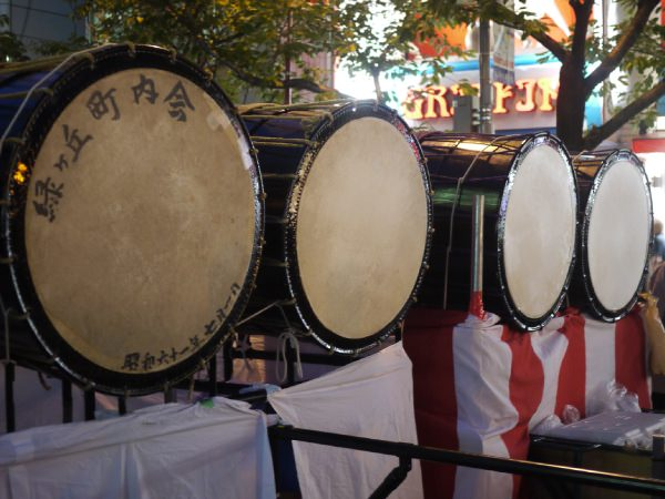 桜新町ねぶた祭り 太鼓
