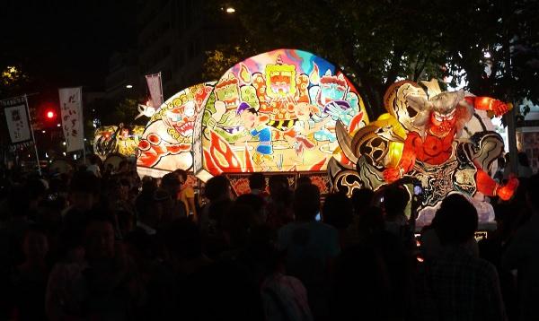 桜新町 ねぶた祭り2013