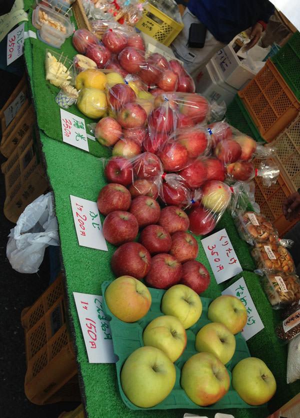 豊丘村 リンゴ販売中