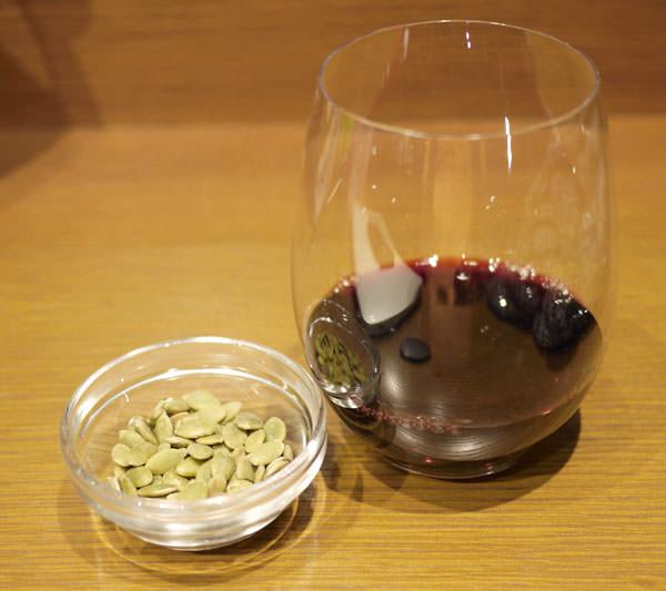 注文したワイン