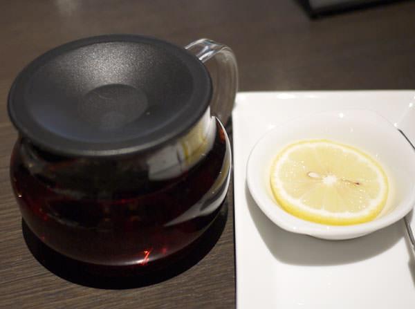 おかわりした紅茶