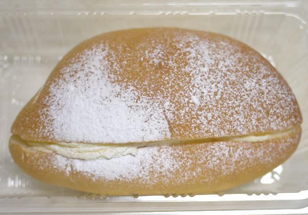 幻のクリームパン 正面の図