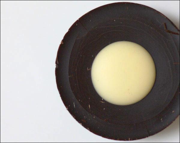 玉川高島屋 フォション「「ショコラコレクション」」レモン 上からの画像