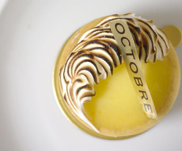 三軒茶屋 太子堂 オクトーブルの「タルト・シトロン」タイトル画像