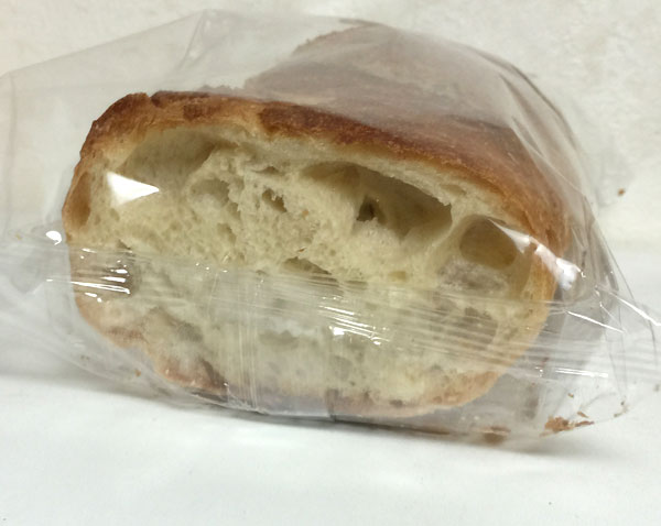 スライスされたフランスパンです